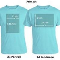 Custom Kaos Tshirt Baju Combed 30S Distro Foto Gambar & Lain Lain