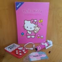 Hello Kitty 3 in 1 Set: Powerbank, Tongsis, Touch U