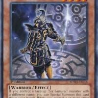 Yugioh Legendary Six Samurai - Kizan - SDWA-EN016 - Common 1st Edition