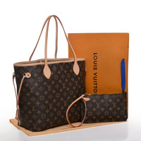 LV NEVERFULL WITH PAPER BAG & POUNCH YR2712