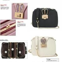 Ut1661 - 1662 tas import / tas batam / hand bag sling bag wanita