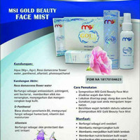 Face Mist MSI