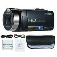 HANDYCAM ANDOER HDV-312P FULL HD 1080P 20MP (FREE MEMORY 16GB DAN TAS)
