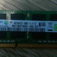 Ram laptop / SODIMM samsung 4GB DDR3 2Rx8 PC3-12800S