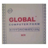 Kertas Continuous Form Global 9 1/2 x 11 (3 ply)