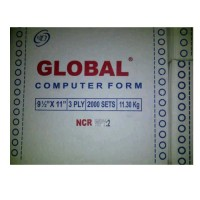 Kertas Continuous Form Global 9 1/2 x 11 : 2 (3 ply)