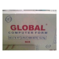 Kertas Continuous Form Global 14 7/8 x 11 (2 ply)