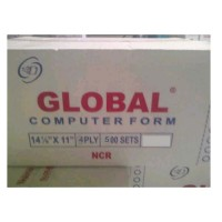 Kertas Continuous Form Global 14 7/8 x 11 (4 ply)