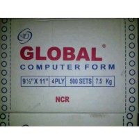 Kertas Continuous Form Global 9 1/2 x 11 (4 ply)