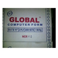 Kertas Continuous Form Global 9 1/2 x 11 : 2 (2 ply)