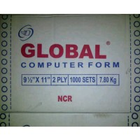 Kertas Continuous Form Global 9 1/2 x 11 (2 ply)