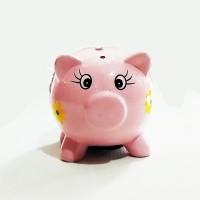 Daitoku Celengan Karakter Piggi Pink