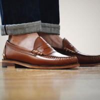 Jual Sepatu Boots Oakstreet (Beefroll penny loafer) Murah