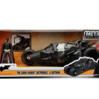 Jual JADA 1/24 METAL DIECAST THE DARK KNIGHT BATMOBILE & BATMAN Murah