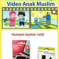 Flashdisk 16gb video edukasi anak muslim