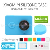 Xiaomi Yi Silicone Case and Lens Cap