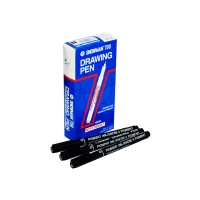 SNOWMAN, DRAWING PEN FT-700, BLACK, 0.1 MM, 1 PC