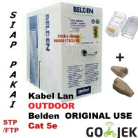 KABEL LAN STP Outdoor cat 5e BELDEN made in USA ORIGINAL meteran