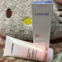 Paket Laniege multi cleanser n moisture cream