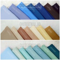 Hijab Jilbab Polos Segi Empat 115x115 Polly Cotton