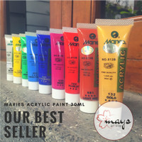 Maries Acrylic Paint 30 ml / Cat Maries Akrilik 30ml