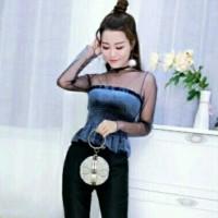 Shannon Top Import / Atasan / Blouse / Baju Cewek / BKK / Baju Murah