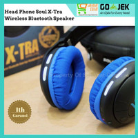 Soul X-tra headphone Wireless Bluetooths ORIGINAL 100% ASLI GARANSI
