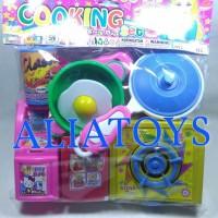 Harga Mainan Cooking Set Mainan alat Rumah Tangga Mainan Minuman Dan Makanan | WIKIPRICE INDONESIA