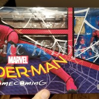 SHF Spiderman Home Coming with Wall Set Shfiguarts HomeComing