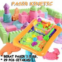 Mainan Edukasi Anak Pasir Kinetic 1.5 kg 29 Cetakan