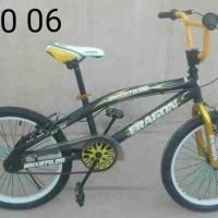 BEST Promo Free Ongkir Se JAWA BALI SEPEDA BMX 270 06 20 HITAM