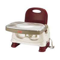 Fisher Price Healthy Care Deluxe Red Booster Seat Kursi Makan Bayi