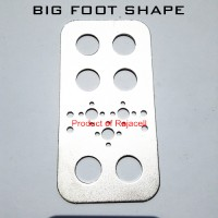 Big Foot Shape Bracket Metal Servo for Mechanical Robot Arduino Roboti