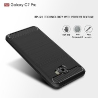 FIBER LINE Case Samsung C7 C9 Pro spigen like cover softcase carbon hp