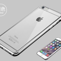 TPU SHINE iPhone 5 5s SE 6 6s 7 8 Plus soft case cover casing hp bunga