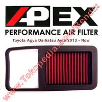 Filter Udara Ayla dan Agya 2013-Now Apex Racing Filter
