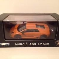 Hot Wheels Elite P4884 1:43 Scale Lamborghini Murcielago LP 640 Orange