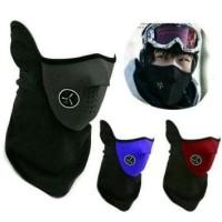 SJJ - Masker Elastis Dengan Penyaring Udara - Panjang dari Leher