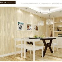 Wallpaper 3D Self Adhesive Fashion Modern Stripe 53cmx5m- Beige 7062