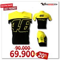 Kaos Valentino Rossi Best Seller..!! ( Kaos Distro, MotoGP, Vr 46 )