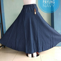 ROK JEANS PAYUNG POLOS