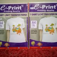 Harga kertas transfer paper e print a4 kaos | antitipu.com