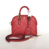 Tory Burch Robinson Stitched Dome Satchel