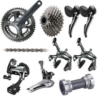 Group Set SHIMANO Tiagra 4700 10 speed crank 50-34 dan sprocket 11-36