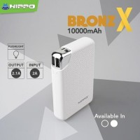 Power Bank Hippo 10000 MaH ORIGINAL Kapasitas Asli Termurah