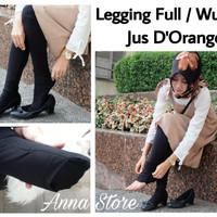Legging Full Jus D'Orange ( Bisa Untuk Wudhu ) Celana Jus D Orange