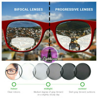 Lensa Progresif Photocromic