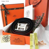 Male Belt New HERMES 1013#p (Gold) Quality : Premium Material Strap