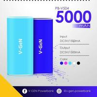 Jual power bank v-gen pb-v504 5000mAh original Murah