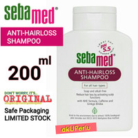 akUPerlu SEBAMED Anti Hairloss Shampoo Anti Hair Loss 200ml 200 ML